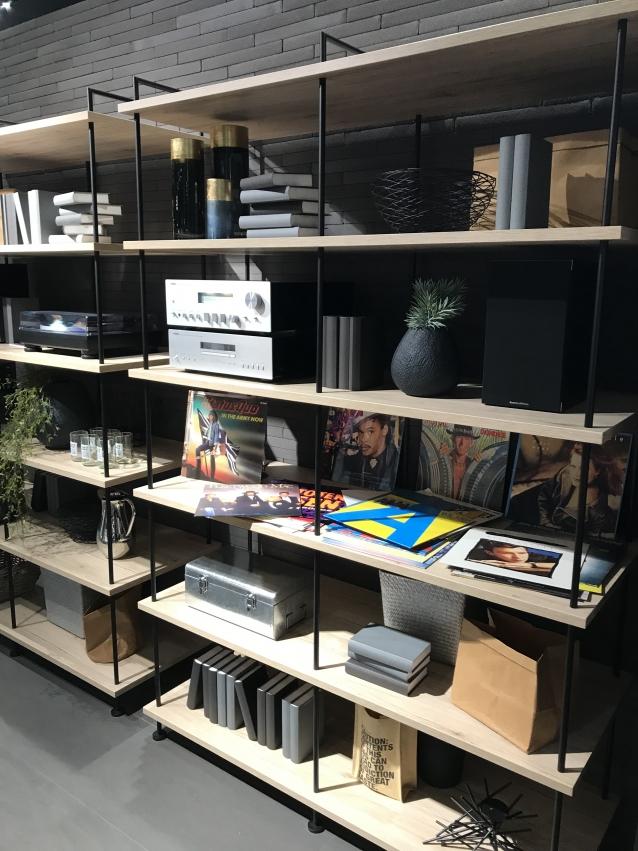 aménagement bibliotèque, étagère à Caen