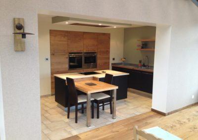 agencement de cuisine moderne à Caen (Calvados -14)