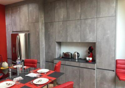 cuisine design haut de gamme à Caen - Patrix