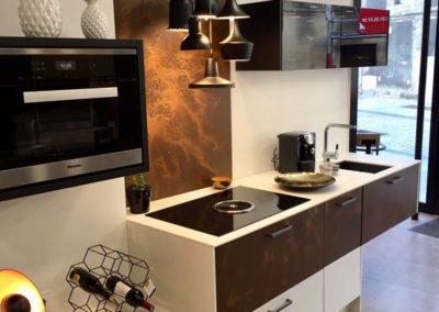 cuisine design luxe à Caen