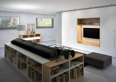 aménagement de salon à Caen