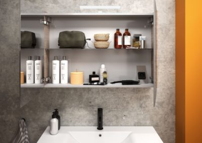 petite salle de bain à Caen